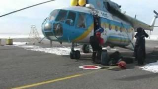 Операция по спасению моряков в Азовском море(Команда панамского сухогруза, пославшего сегодня утром сигнал бедствия, доставлена в Симферополь на верто..., 2012-02-08T10:40:34.000Z)