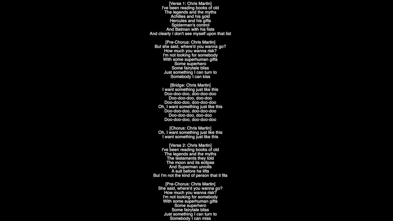 (Full Lyrics) Something Just Like This The Chainsmokers & Coldplay - YouTube