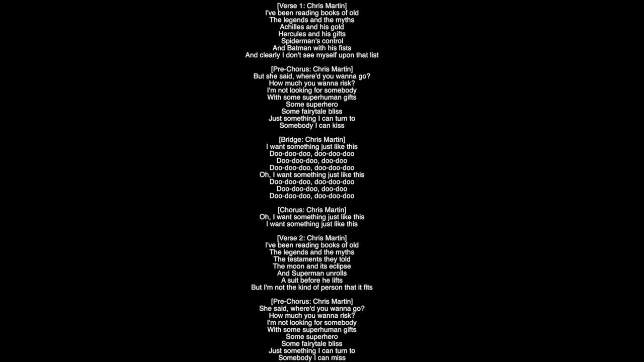Full Lyrics) Something Just Like This The Chainsmokers
