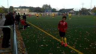 Fortuna Köln U14 - TuRa 88 Duisburg U14 2:0 am 10.10.15