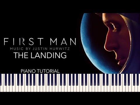 First Man - The Landing (Piano Tutorial + Sheets)