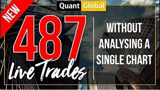 AUTHENTIC BROKER VERIFIED PROOF: 487 Forex Live Trades Without A Single Chart Analysis.