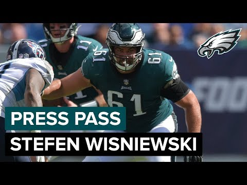 G Stefen Wisniewski Believes The Team Will 'Bounce Back' | Eagles Press Pass