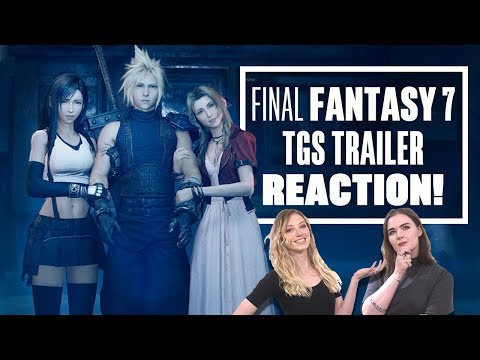 final-fantasy-7-remake-trailer-reaction---let's-watch-final-fantasy-7-remake-trailer