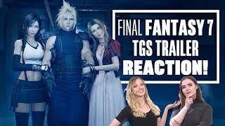 Final Fantasy 7 Remake Trailer REACTION - Let's Watch Final Fantasy 7 Remake Trailer
