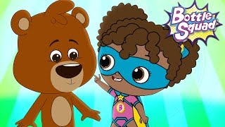 Bear Balancing Act | Superheroes Kids Cartoons | Stories For Children | Bottle Squad Kids Tv