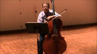 Double Bass Excerpts - Beethoven Symphony No. 9, Finale