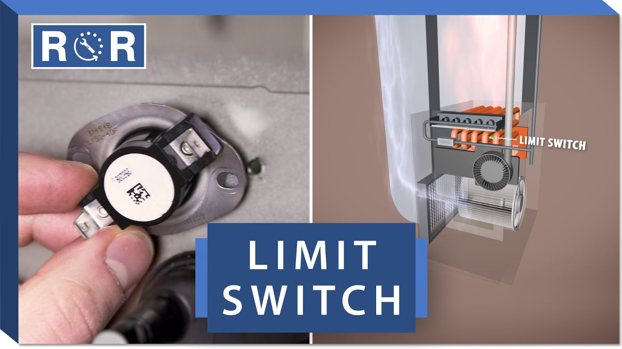 Furnace Limit Switch Repair And Replace Youtube