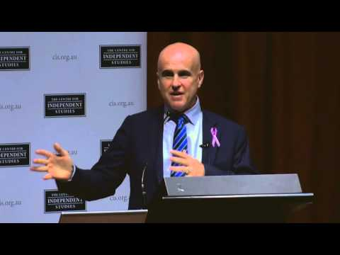 Five From Five launch - NSW Minister for Education Adrian Piccoli