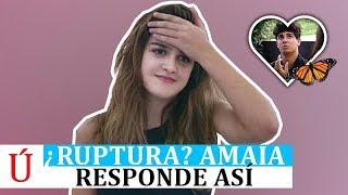 Así responde Amaia sobre su posible ruptura con Alfred después de Operación Triunfo