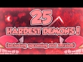 Geometry Dash | Top 25 Hardest Demons (Including Unrated and Upcoming)
