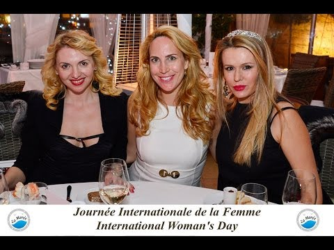 Международный женский день в Монако в La Marée - Russian Riviera