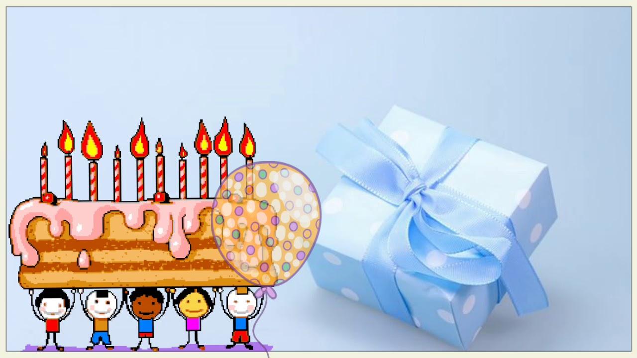 Happy Birthday Gift Video Whatsapp Status Video Youtube