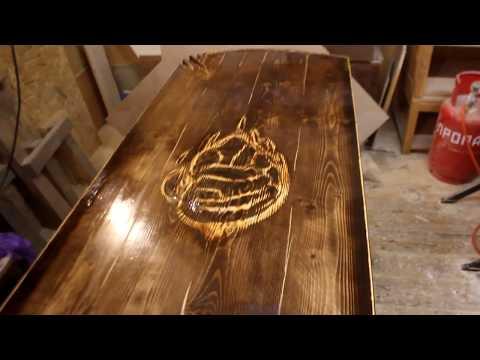 мебель в баню своими руками (стол)