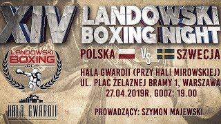 Na żywo: Landowski Boxing Night (27/04/2019) Warszawa