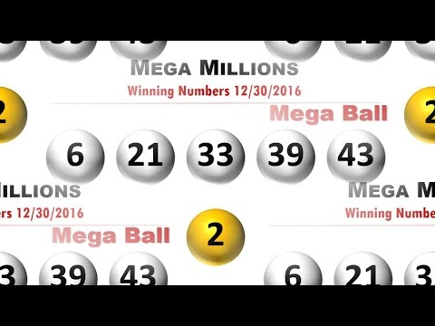 Mega millions winning numbers Friday December 30, 2016; jackpot to $105 million