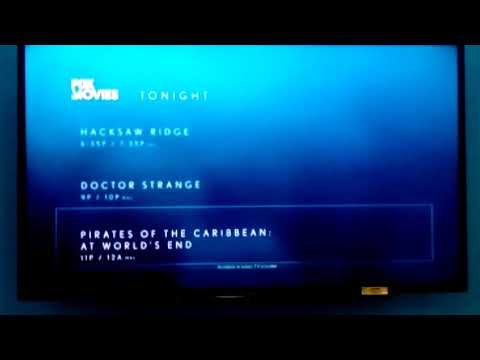 FOX Movies Tonight Lineup + FOX Family Movies Asia Station ID