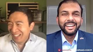 Qasim Rashid is building support in rural Virginia | Andrew Yang | Yang Speaks