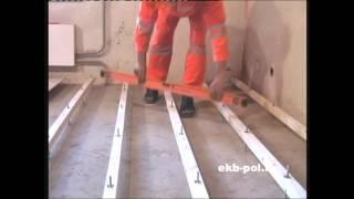 ремонт пола в квартире видео