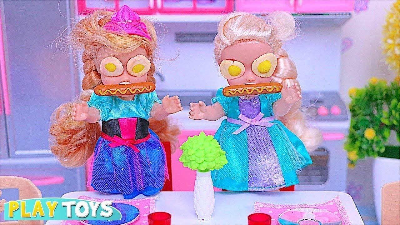 Download Baby Dolls Elsia và Ăn sáng Anya Morning Thời gian chơi! 🎀