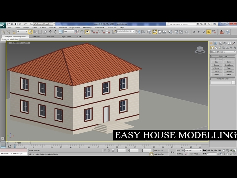 3Ds Max - Easy House Modelling In 3Ds Max