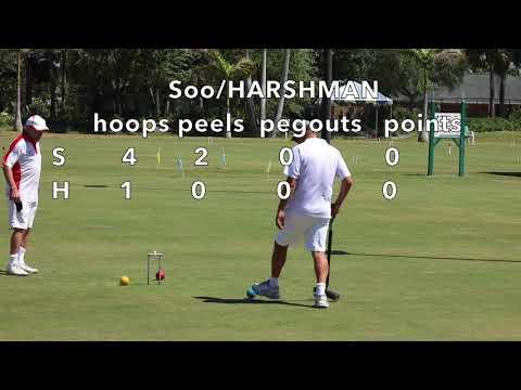 Croquet Innovations: Peel &Peg - Soo/Harshman v Mulliner/Jenkins  2018