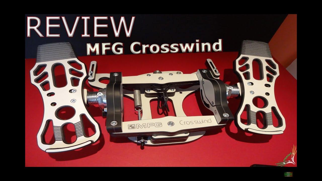 MFG Crosswind Review » Premium Quality Rudder Pedals