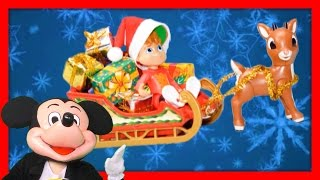 ALVIN AND THE CHIPMUNKS + MICKEY Christmas Alvin is Santa Claus + Paw Patrol Holiday Video