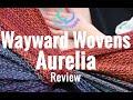 Babywrap Review: Wayward Wovens Aurelia