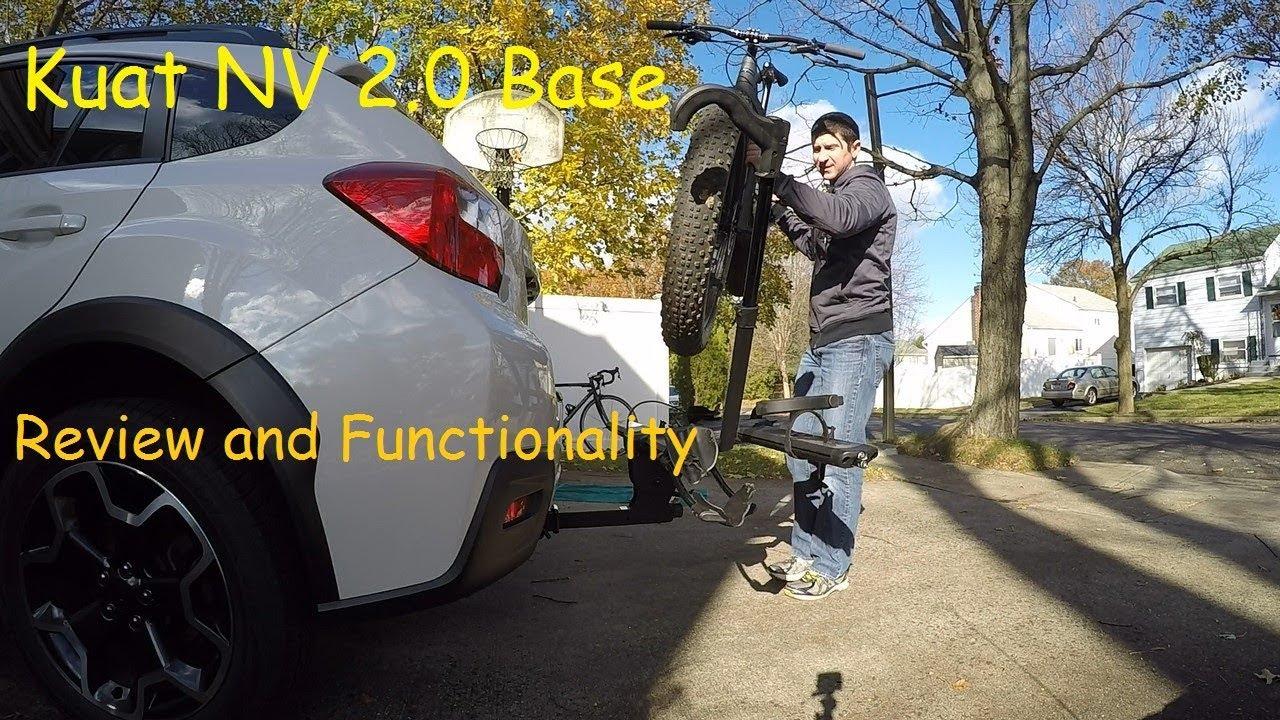 Kuat Nv 2 0 Base Bike Rack Review Youtube