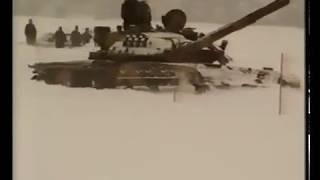 правдивый тест шведами Т 80У зимний тест