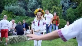 Второй день свадьбы с украинскими мотивами
