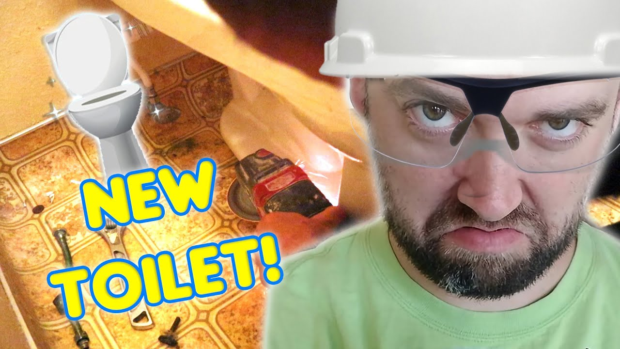 New Toilet! Home Remodel!