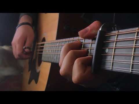 Game of Thrones Theme on a 12String Guitar