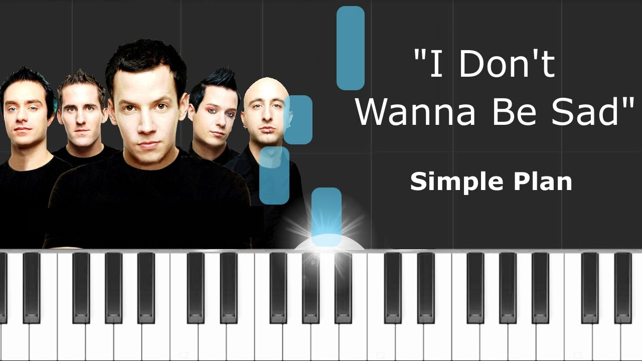 Simple plan i dont wanna be sad piano tutorial chords simple plan i dont wanna be sad piano tutorial chords how to play cover hexwebz Gallery