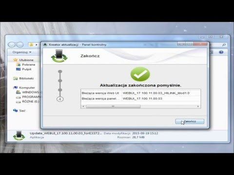 Installing firmware / Change modem version of the ordinary for hilink  Huawei E3372s-153