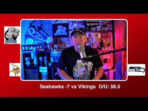 Seattle Seahawks vs Minnesota Vikings NFL Pick and Prediction Sunday 10/11/20 Week 5 NFL Betting Tip