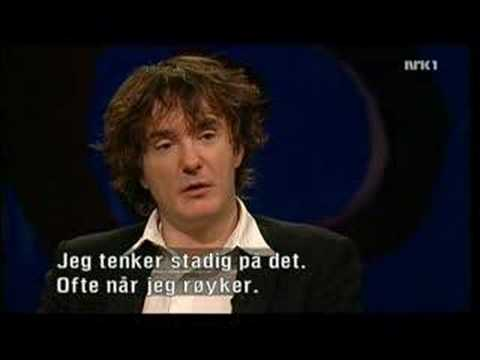 Dylan Moran on Norwegian chat show
