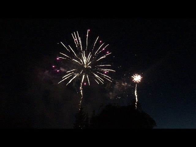 Feu d'artifice de Josselin