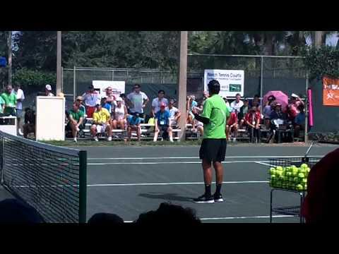 2013 Tennis Rick Macci Shows Components of Serve