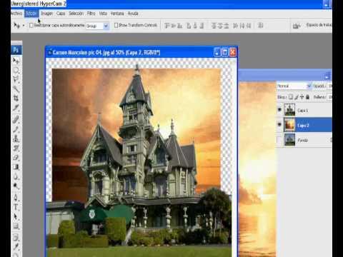 Cambiar el fondo de una foto en photoshop cs5 25