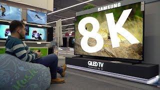 Samsung QLED 8K Q900R - среща с първия 8K TV в България