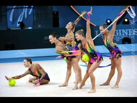 Batucada music for rhythmic gymnastics GROUPS 009