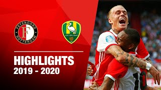 Highlights | Feyenoord - ADO Den Haag | 2019-2020