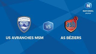Avranches vs AS Beziers full match