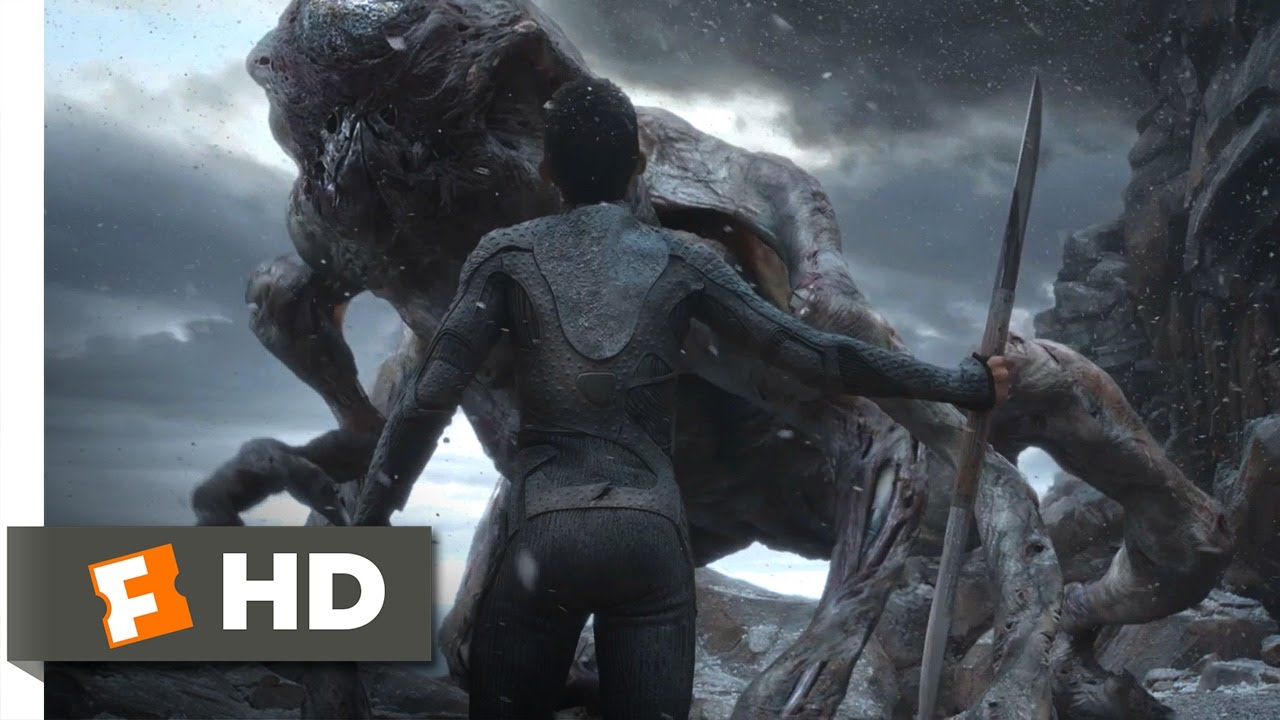 Download After Earth (2013) - Kitai Battles the Ursa Scene (10/10) | Movieclips