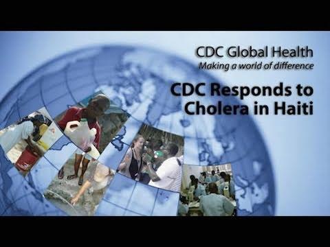 CDC Responds to Cholera in Haiti