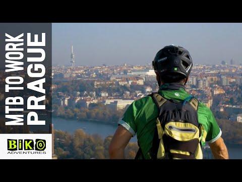 (Mountain) bike to work in Prague
