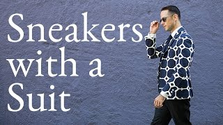 Sneakers with a Suit - Ask He Spoke Style, Ep. 6