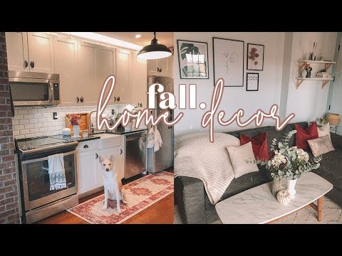 FALL HOME DECOR 2018 - Decorating My NYC Apartment! | Antonnette